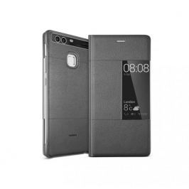 Huawei etui z klapką S-View dla P9, szare