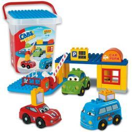 Unico Cars for kids - Parking w pudełku