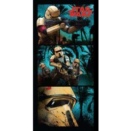 Jerry Fabrics ręcznik Star Wars 70x140 cm