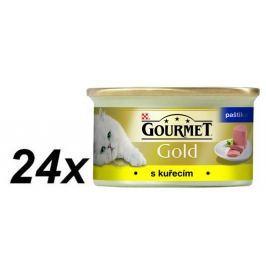 Gourmet Gold mokra karma dla kota - paszteciki Drobiowe - 24 x 85g