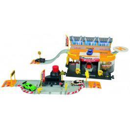 Majorette Creatix Garaż wyścigowy+1 autko, MJ-2050011