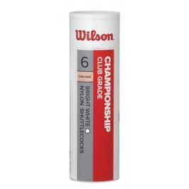 Wilson lotki do badmintona Championship 6 tube White speed 77 (wolne)