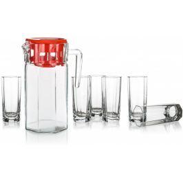 Pasabahce Zestaw dzbanek ze szklankami KOSEM 7el.