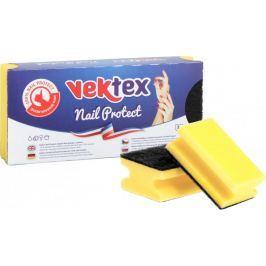 Vektex Profilowane gąbki do naczyń Nail Protec 10 x 3 sztuki