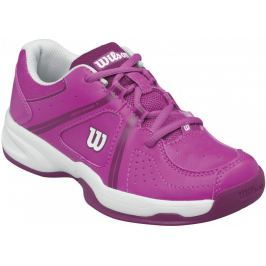 Wilson buty tenisowe Envy Jr Rose Violet/White/Boysenberry 33.3
