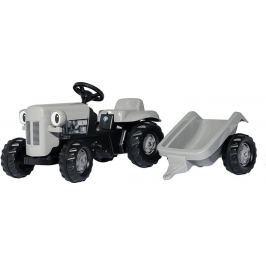 Rolly Toys Srebrny traktor Fergie z przyczepą