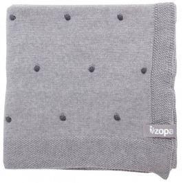 ZOPA Kocyk dziecięcy Dots, Grey