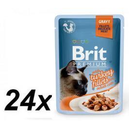 Brit Premium Cat Delicate Indyk w sosie 24x85 g