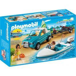 Playmobil Pickup z motorówką 6864