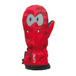 Matt rękawice 3094 Monster Kid Mitten Tootex M Rojo 4K