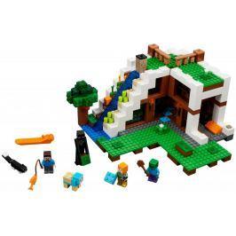 LEGO Minecraft 21134 baza pod wodospadem