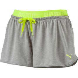 Puma spodenki sportowe Transition Drapey Shorts W Light Gray He M
