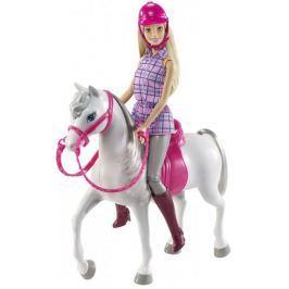 Mattel Lalka + koń Dhb68