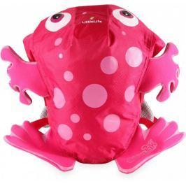 LittleLife Animal Kids SwimPak - Plecaczek Różowa Żabka L12041
