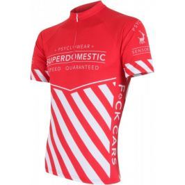 Sensor koszulka rowerowa Superdomestic red XXL