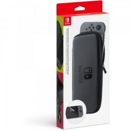 Nintendo futerał i folia ochronna na ekran dla konsoli Nintendo Switch