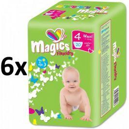 Magics Pieluszki Flexidry Maxi (7-18kg) Megapack - 120 szt.