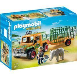 Playmobil Terenówka rangera z przyczepą 6937