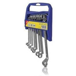 Erba zestaw kluczy oczkowych 8 szt. 6-22 mm