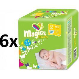 Magics Flexidry Mini (3-6kg) Megapack - 144szt.