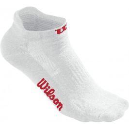 Wilson skarpetki tenisowe W White No Show Sock 3Pair/Pack 36-43