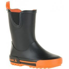 KAMIK Kalosze Rainplay Black & Orange 30
