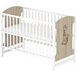 Sun Baby Drewniane łóżeczko Baby Sky - MIKI 102