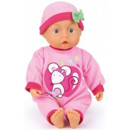 Bayer Design First Words Baby lalka różowa, 33 cm