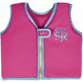 Speedo Kamizelka pływacka Sea Squad Swim Vest Vegas Pink 4-6