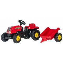 Rolly Toys Traktor na pedały Rolly Kid z przyczepą
