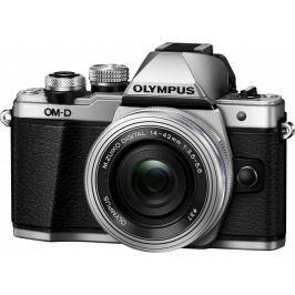Olympus aparat cyfrowy OM-D E-M10 Mark II + 14-42 EZ, srebrny