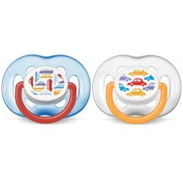 Avent Smoczki Sensitive 6-18 m. bez BPA, chłopiec