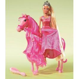 SIMBA Lalka Steffi - Księżniczka na koniu