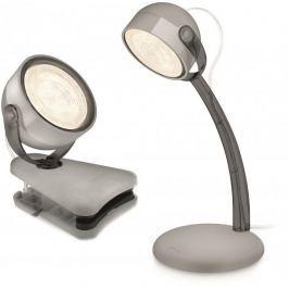 Philips Lampa na klip + lampka stojąca Dyna