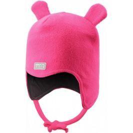 Lassie Niemowlęca czapka z uszami Beanie Neon Raspberry S
