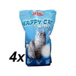 Akinu żwirek HAPPY CAT 4 x 3,6l White