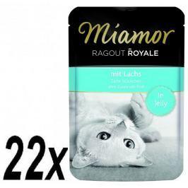 Finnern saszetki dla kota Miamor Ragout z Łososia 22 x 100 g