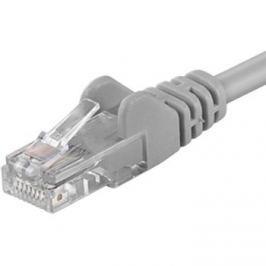PremiumCord kabel sieciowy UTP CAT6, 10 m, szary