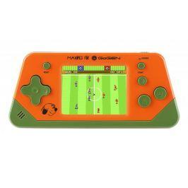 GoGEN Konsola do gier 2,5'' LCD 80 gier, pomarańczowa