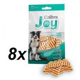 Calibra przekąska dla psa Joy Dog Dental Chicken Waves 8 x 80 g