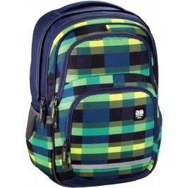 HAMA ALL OUT plecak szkolny BLABY summer check green