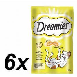 Dreamies przysmak dla kota z serem - 6 x 60g