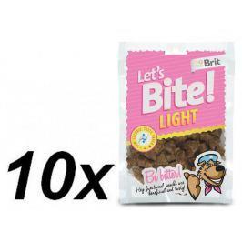 Brit przysmak dla psa Lets Bite Light 10x150 g
