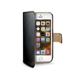 CELLY Futerał Wally, Apple iPhone 5/5S, czarny