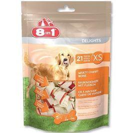 8in1 kości do żucia dla psa - worek XS (21 szt)