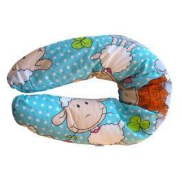COSING Poduszka do karmienia, owieczka, niebieska
