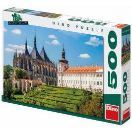 DINO puzzle Kościół Św Barbary 500 elementów