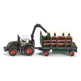SIKU Traktor z przyczepą do wywozu drzewa 1:87, 1861
