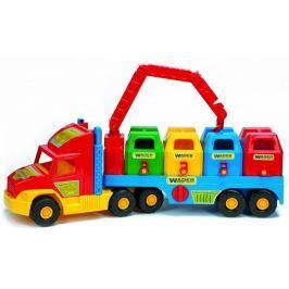 Wader Śmieciarka Super Truck 36530