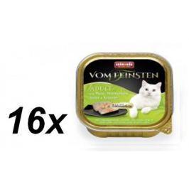 Animonda mokra karma dla kota V.Feinsten z indykiem, kurczakiem i ziołami 16 x 100g
